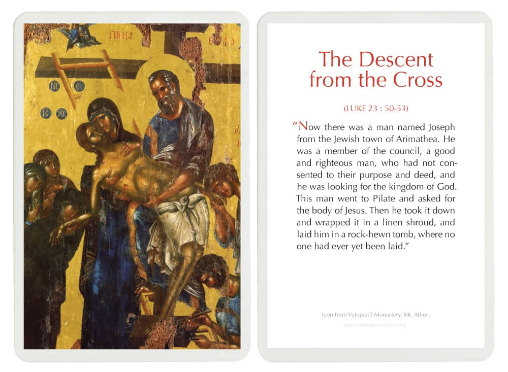 The Descent From The Cross Laminated