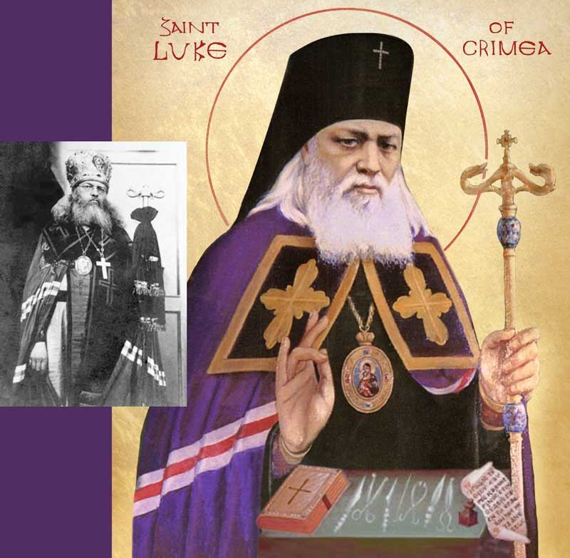 Saint Luke of Crimea