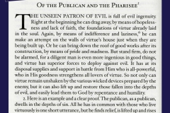 On the Publican and the Pharisee