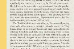 Gradual extermination of the Greeks