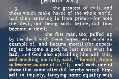 God mocks Adam
