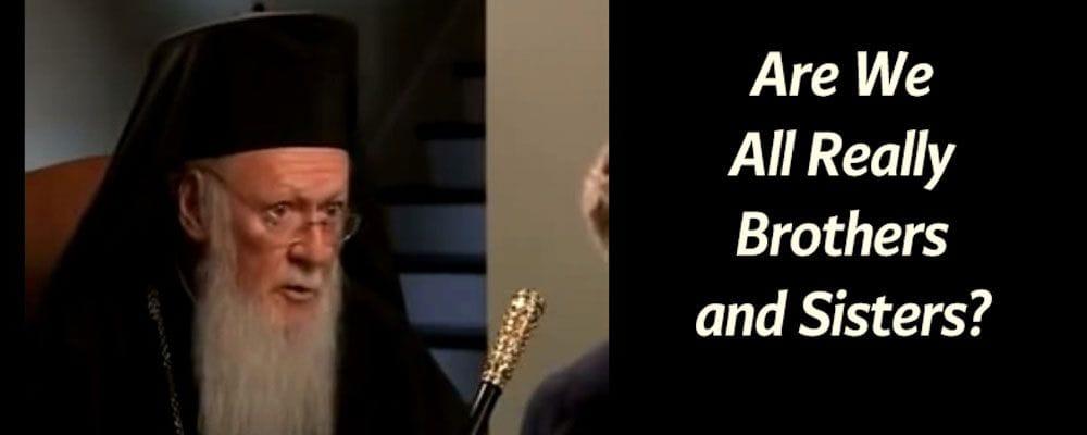 Patriarch Bartholomew Charlie Rose
