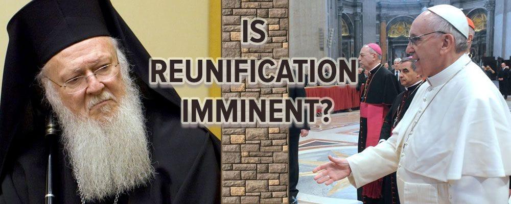 reunification of orthodox catholic churches