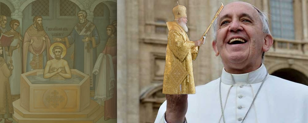 russia capitulates to papism