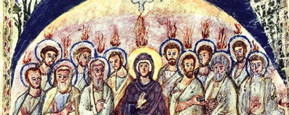 the mother of God in iconography